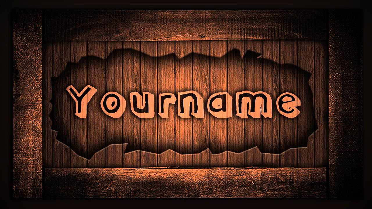 Intro template basic wood adobe after effects free for Aep templates free download