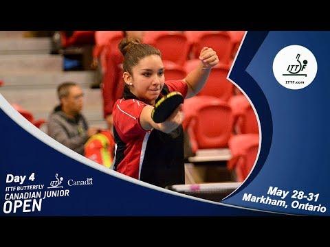 2018 ITTF Canadian Junior & Cadet Open - Day 4