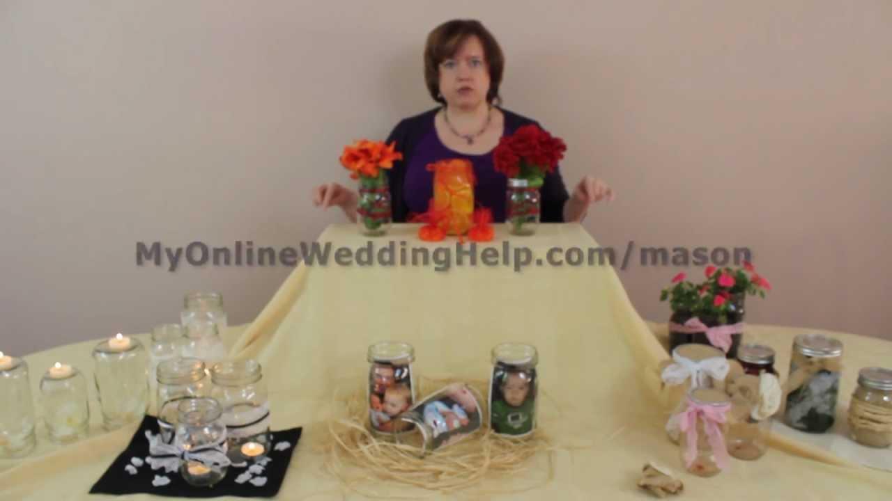 Mason Jar Centerpieces And Decorations Ideas Youtube