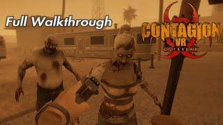 Contagion VR Outbreak | Full Walkthrough | PSVR