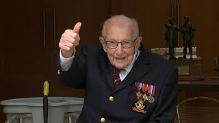 video: Capt Tom Moore to get 100th birthday flypast as RAF steps in