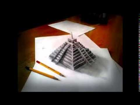 Very cool 3d drawings part 1 youtube