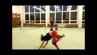 Rhythmic gymnastics training - Masteries & Risks