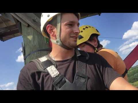Scary Free fall 100 feet-HISTORIC BANNING MILLS -GEORIA LA