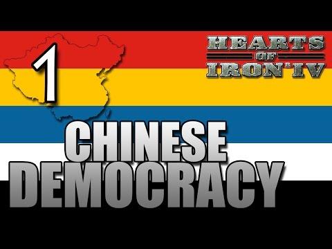 Chinese Democracy vs Japan 1939 [1] Hearts of Iron IV HOI4