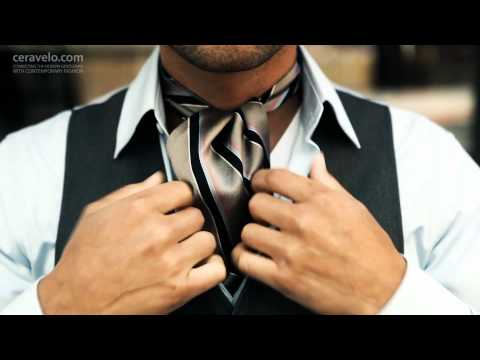 How to Tie an Ascot Tie by Ceravelo