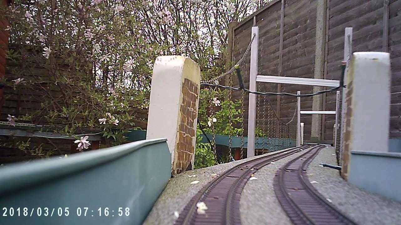 00 Garden Railway New Cam Test