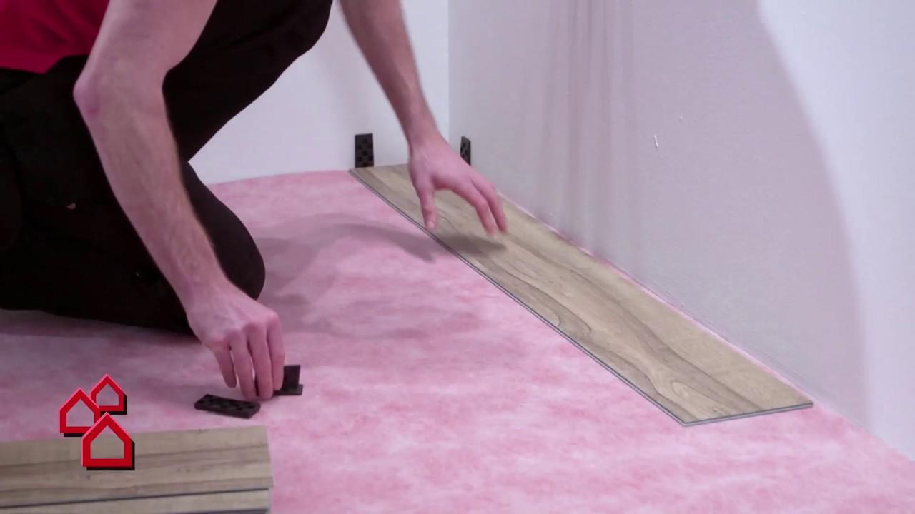Uniclic Vinylboden Von B Design Bauhaus Youtube