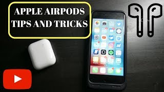 JUST GOT YOUR AIRPODS?! APPLE AIRPODS TIPS AND TRICKS!