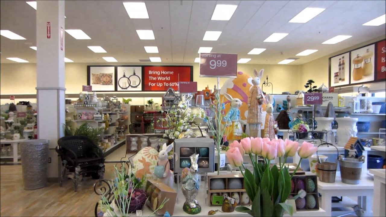 Easter and other home decor at homesense youtube - Coupon for home decorators decoration ...