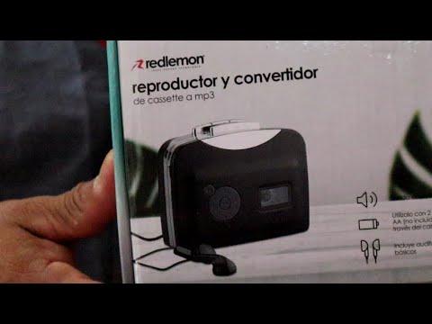 Cassette a MP3 || Reproductor Convertidor Redlemon (Video casual)