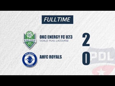 Energy FC U23 vs. AHFC Royals