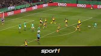 Top 10: Die schönsten Tore des DFB-Pokal-Achtelfinals 2020 | SPORT1