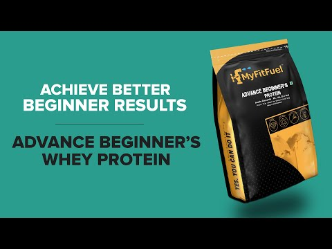 Advance Beginner's Whey Protein | Added 5 Digestive Enzymes. | Contains Whey Protein Isolate Protein