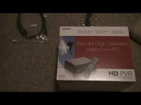 HD PVR Hauppauge UNBOXING