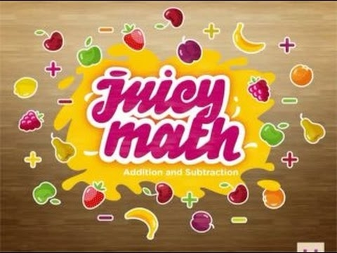 Juicy Math - Addition and Subtraction | Math App for Toddlers