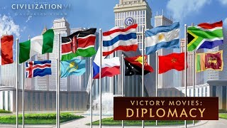 Civilization VI: Gathering Storm - Diplomacy Win (Victory Movies)