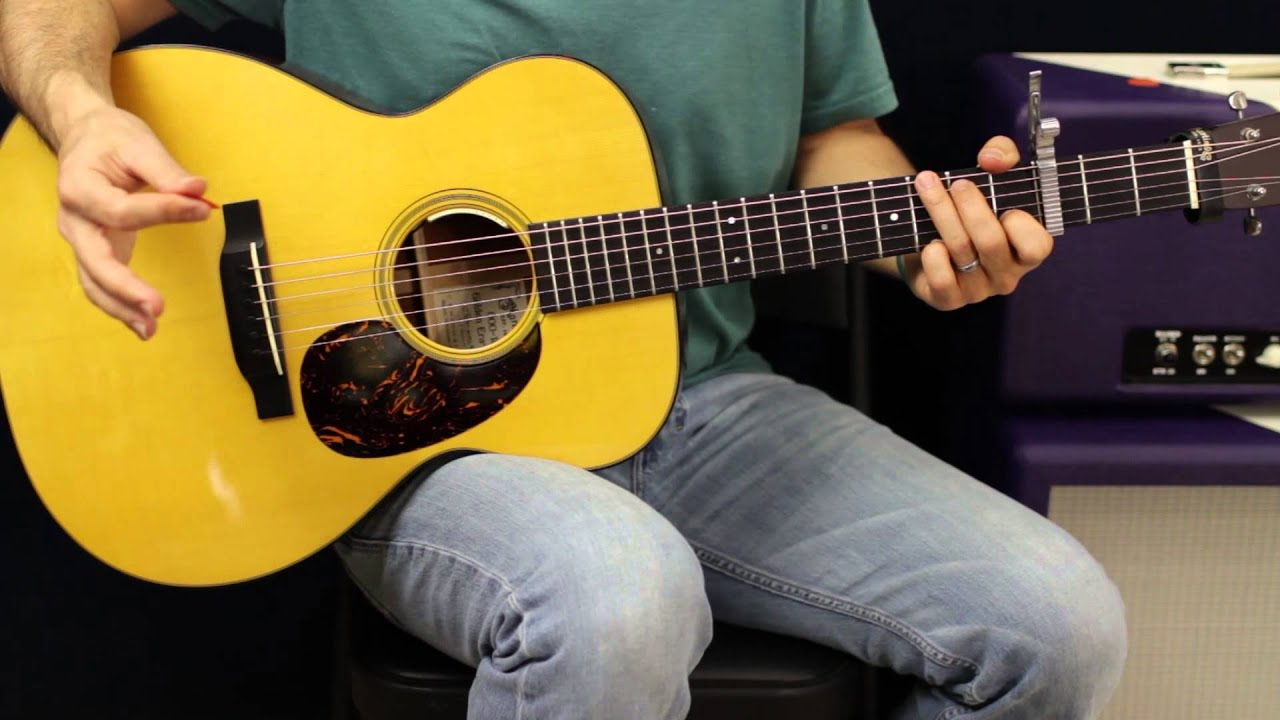 Simple Acoustic Guitar Song Lesson Coldplay Fix You Acoustic