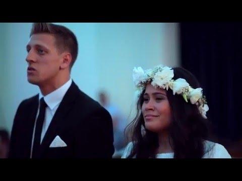 Impresionante Haka en pleno casamiento