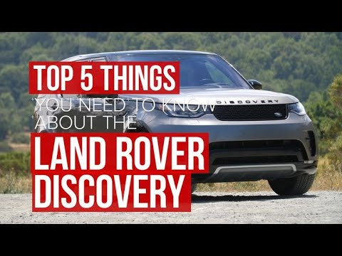 Five things to know about the 2017 Land Rover Discovery