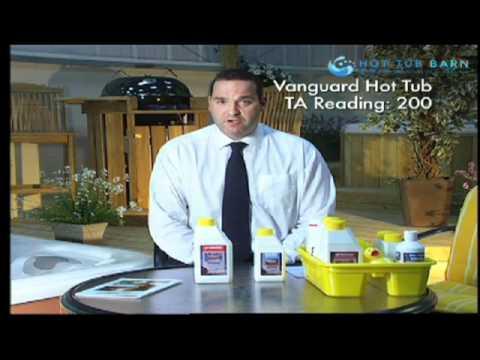 Adjusting hot tub Total Alkalinity (TA) for perfect spa ...
