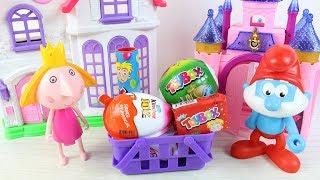 Şirin Baba Prenses Holly Hediye Sürprizler Getirdi Sürpriz Yumurta İçinde Ne Çıkacak