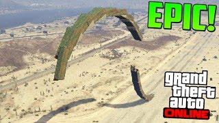 ESTO ES MUY DIFICIL! A LA INVERSA!! - Gameplay GTA 5 Online Funny Moments (Carrera GTA V Xbox ONE)