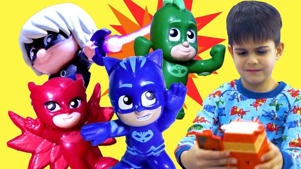 Heroes vs Villains! ✨ PJ Masks Creations Episode 💜NEW SERIES ⭐️