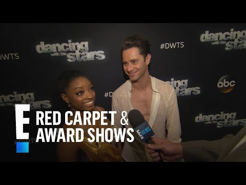 """Simone Biles Reacts to Shocking """"DWTS"""" Elimination 