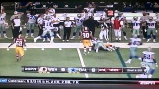 Cowboys vs Redskins week 3 2011
