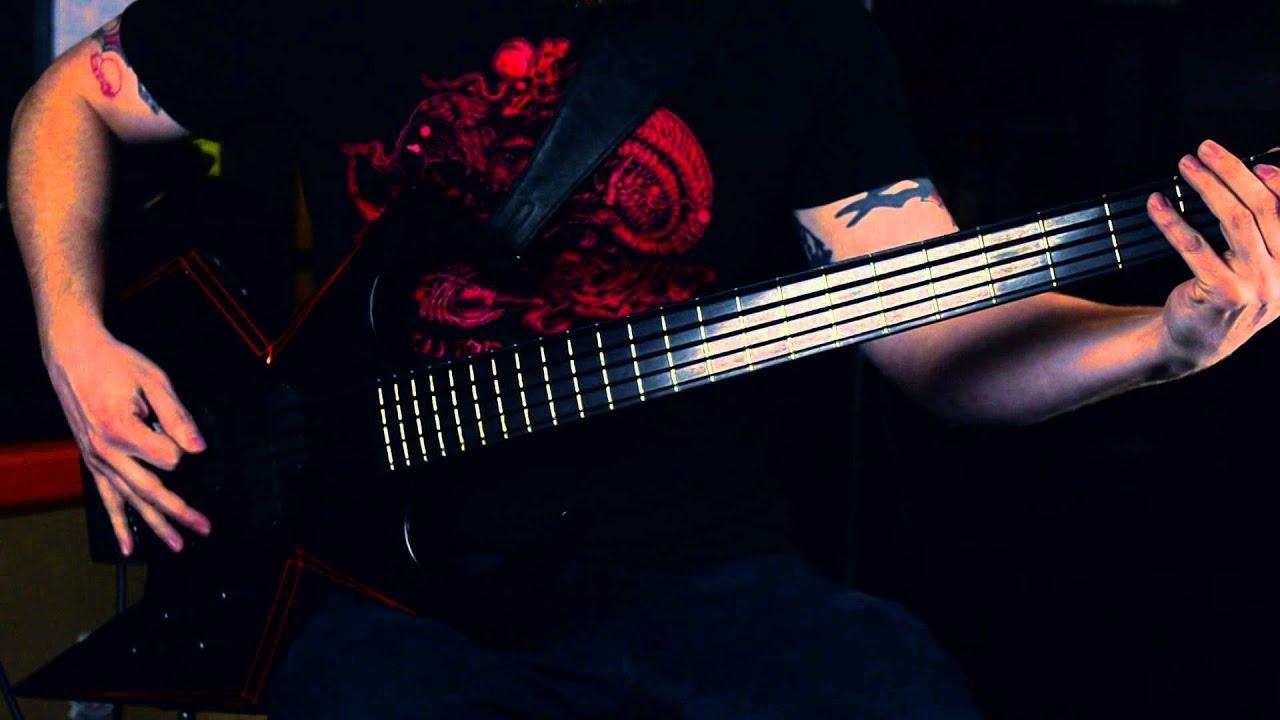 BC Rich WMD Widow 5 String Bass Guitar Gear Review