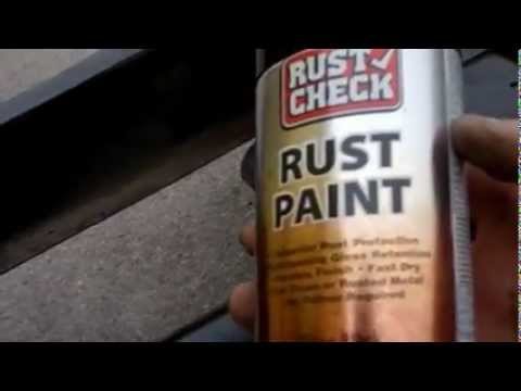 HOW TO GET RID OF RUST ON YOUR TRUCK'S FRAME