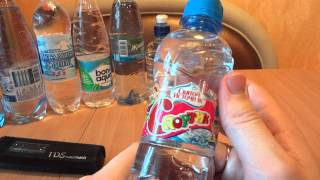 видео Лучшая бутилированная вода