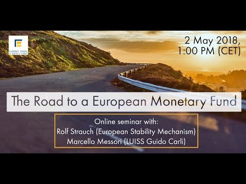 The Road to a European Monetary Fund - Rolf Strauch (ESM) and Marcello Messori (LUISS Guido Carli)