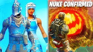 Mise à jour Fortnite ' NOUVEAU! Frozen Renegade Raider - Black Knight Skins, NUKE ATTACK CONFIRMED, PLUS!