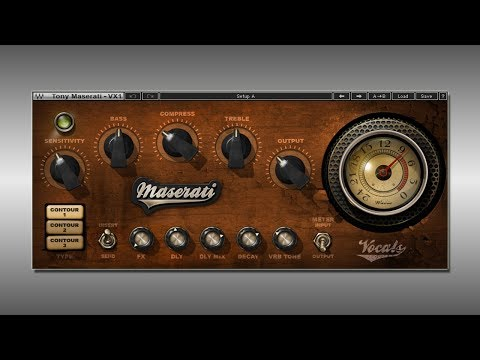 Great VST Plugin for Mixing Vocals [Waves VX-1]