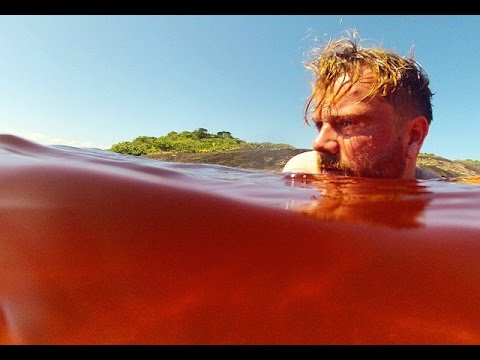 Swimming in Coca-Cola Lake, Brazil