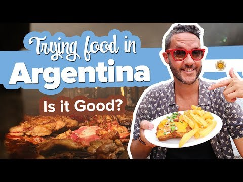 Argentinian Food Feast 🍽FIRST TIME TRYING ASADO 😋What To Eat In Argentina.