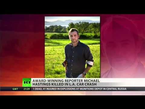 Journalist Michael Hastings dies in car crash