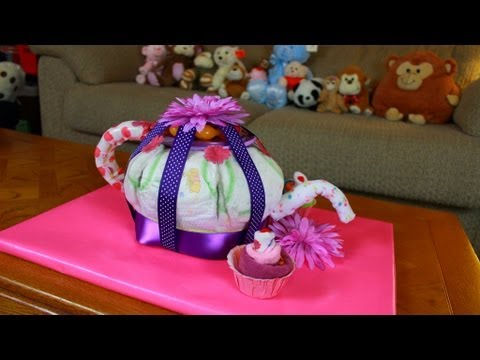 How To Make A Horse And Buggy Diaper Cake