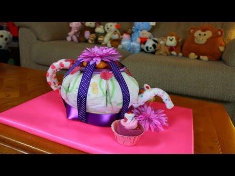 How To Make A Teapot Cake Youtube