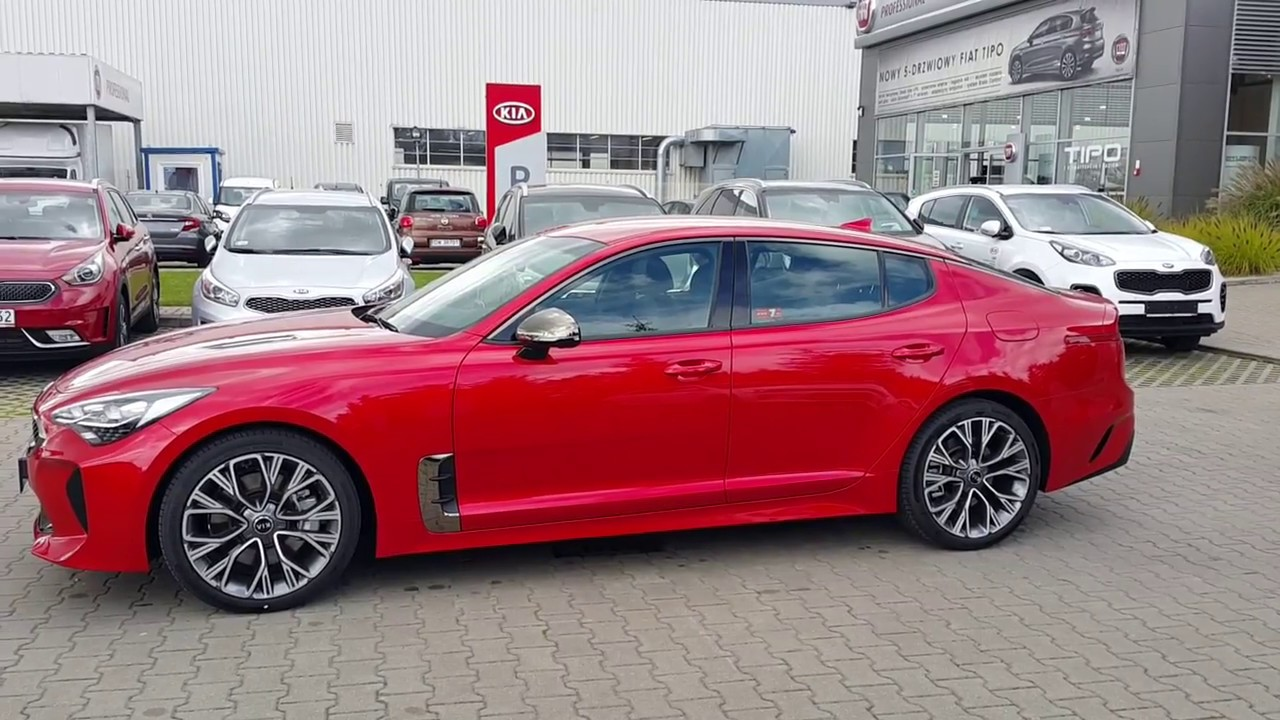 kia stinger gt line 2 0 t gdi 255 km 8at youtube. Black Bedroom Furniture Sets. Home Design Ideas