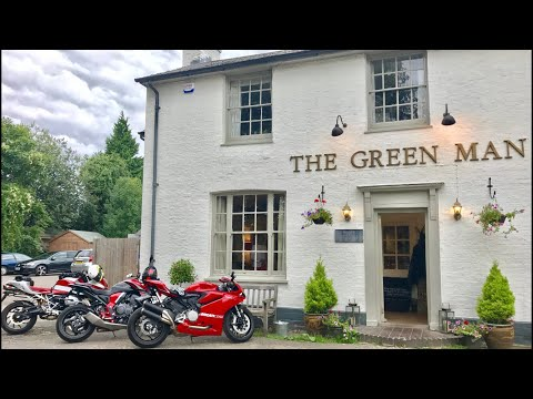 DUCATI 959 PANIGALE WITH CB1000R & R1200S, Riding to the pub & a close encounter with Some Deer 🦌