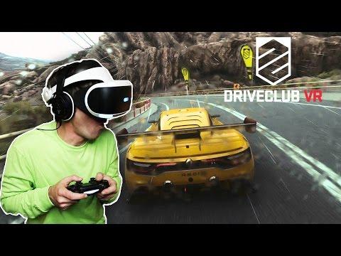 EL MEJOR JUEGO DE COCHES EN VR! Drive Club VR - [LuzuGames]