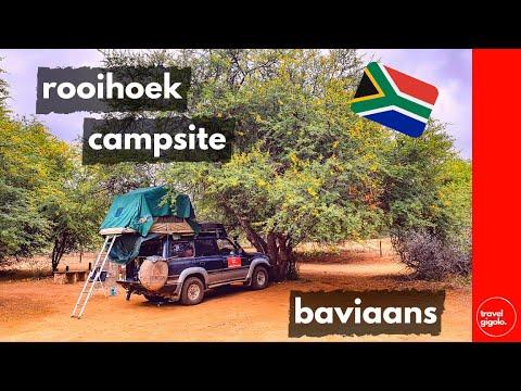 Campsite Review: Rooihoek Camp (Baviaanskloof, Eastern Cape)[South Africa Self Drive]