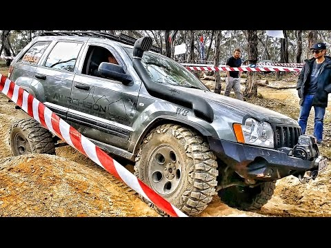 Jeep Grand Cherokee CRD @ Jambo Test Track