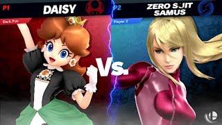 Dark.Pch (Daisy) Vs Zero suit Samus ~ Super Smash Bros. Ultimate ~