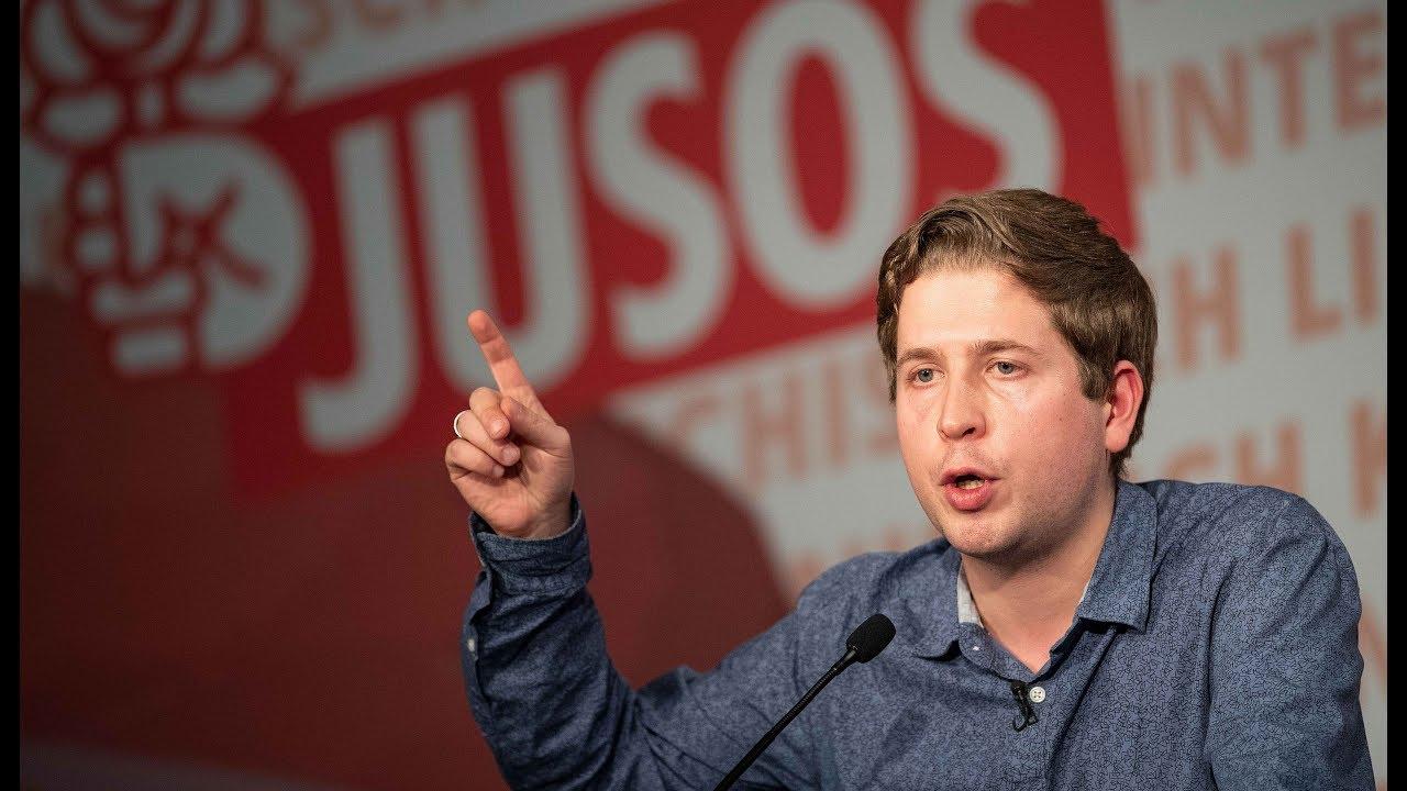 ENTEIGNUNG: Heftige Kritik an Sozialismus-Thesen von Juso-Chef Kühnert