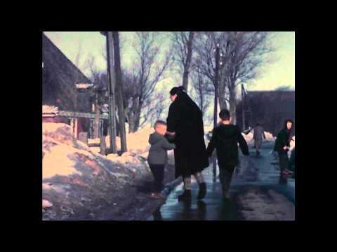 Met de auto OP het IJsselmeer (strenge winter 1963)