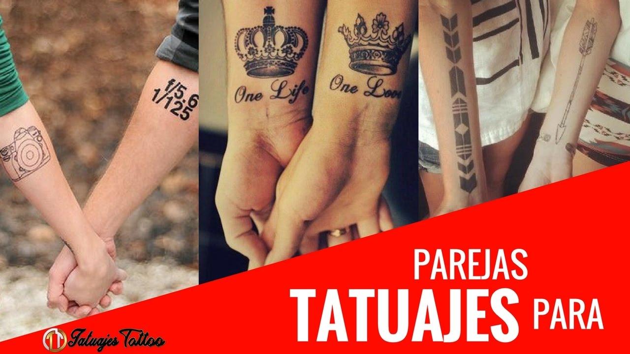 Tatuajes Para Parejas Enamoradas Amigas Novios Ideas Originales